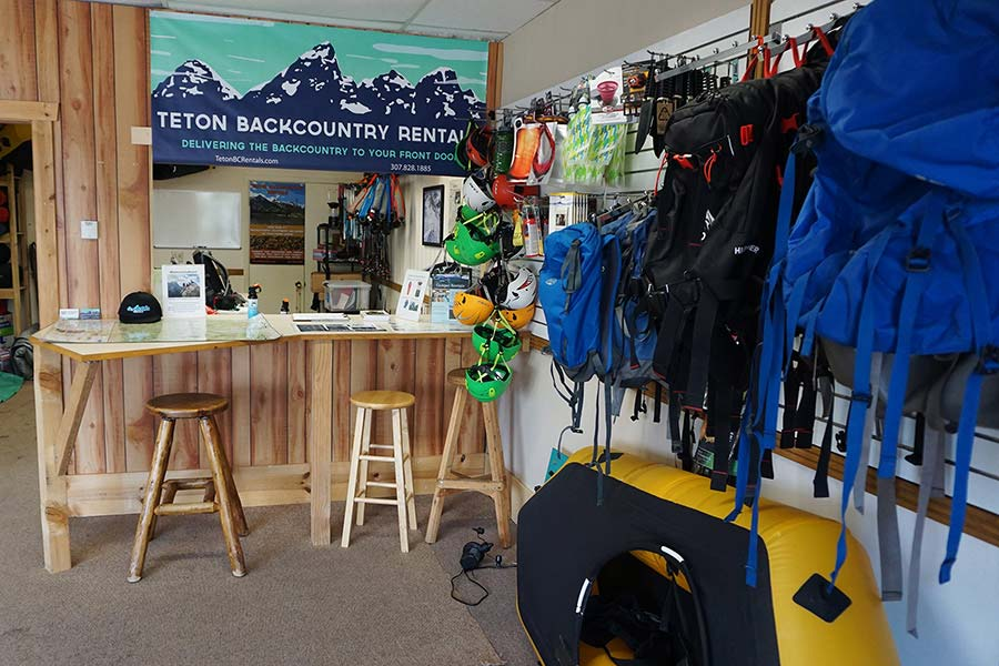Teton Backcountry Rentals Store