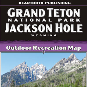 beartooth publishing grand teton map