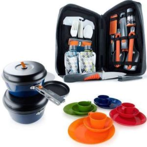 Car Camping Cookware Set
