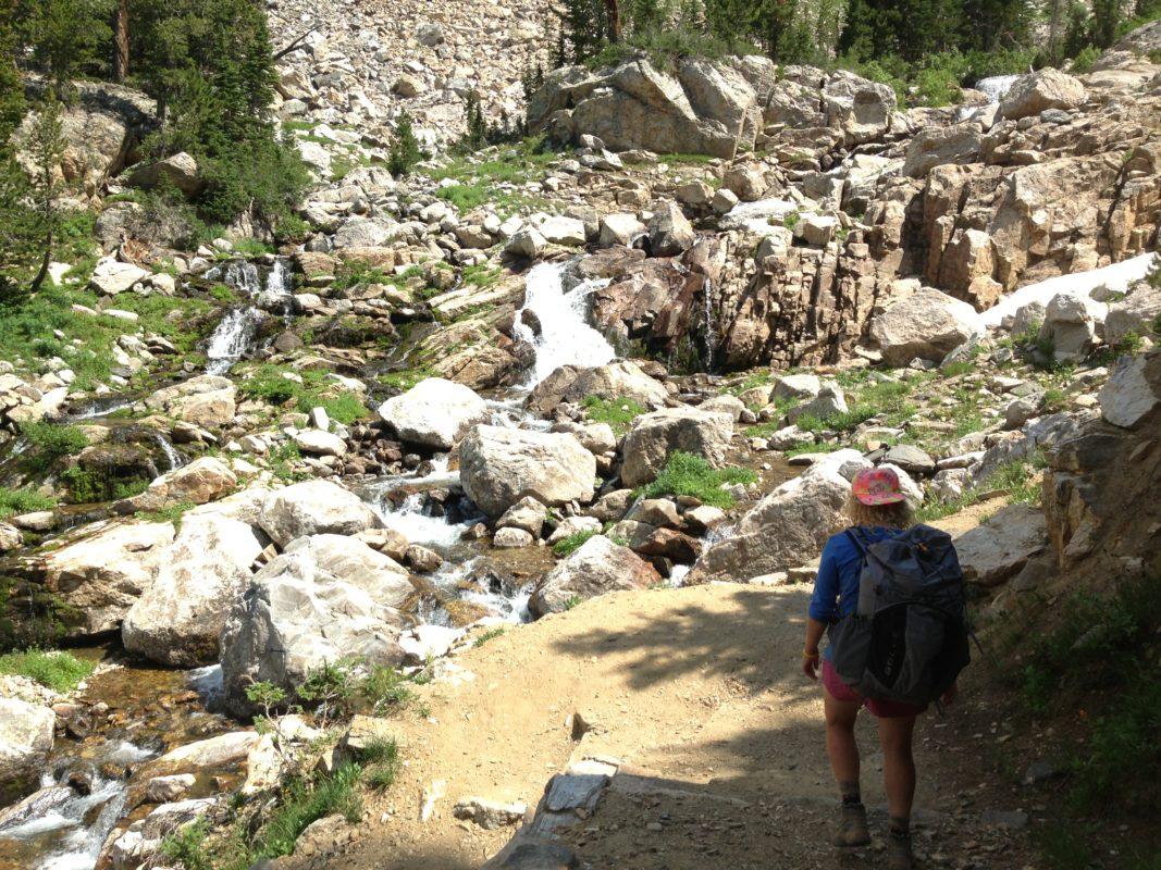 Teton Crest Trail Waterfall