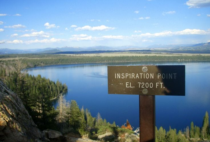 inspiraiton point sign